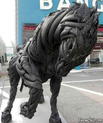 Creative and Cool Ways To Reuse Old Tires (20) 20