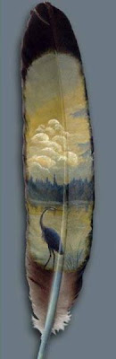 Feather Paintings (21) 9