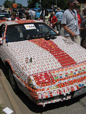Ketchup art car