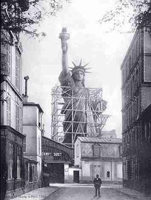 Statue of Liberty under construction (2) 1
