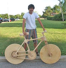 Wooden Bicycle (2) 1