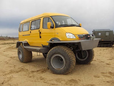 Cars designed to run in mud (7) 5