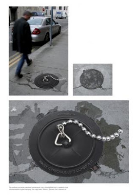 Creative and Clever Uses of Manhole In Advertisements (6) 2