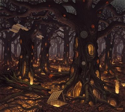 Fictional Surreal Art By Jacek Yerka (11) 8