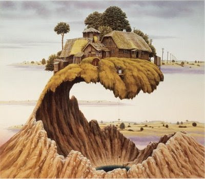 Fictional Surreal Art By Jacek Yerka (11) 4
