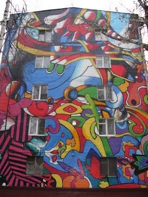 Painting on Buildings 5
