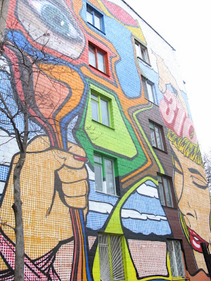 Painting on Buildings 9