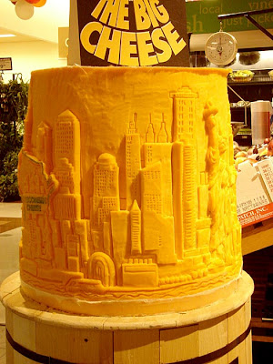 11 Creative Cheese Sculptures (11) 7