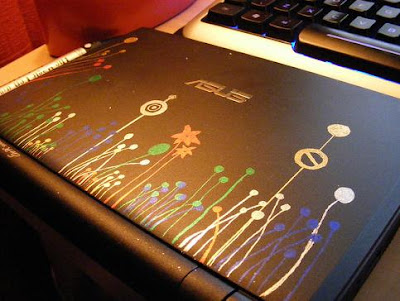 Laptop Decoration