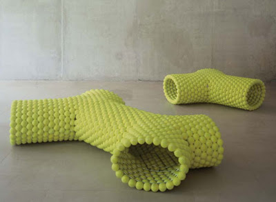 Tennis ball bench (2) 1