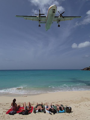 Maho Beach And Its Low Flying Planes (10) 1