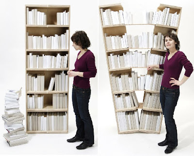 Innovative and Cool Bookcase Designs (12) 3