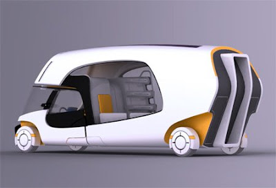 Combination of A Car and A Caravan (5) 3