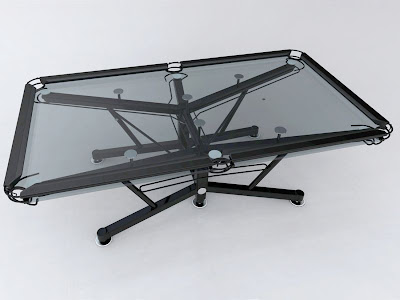 Pool Table Made Of Glass (6) 2