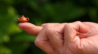 Smallest Teapot In The World