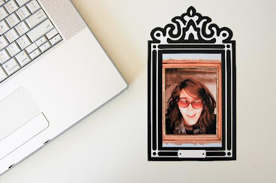 Re-Stickable Decal Photo Frames (3) 2