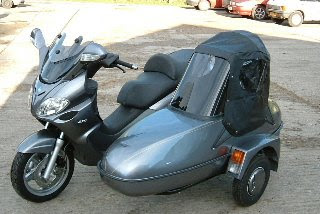PV1 Scooter Sidecar