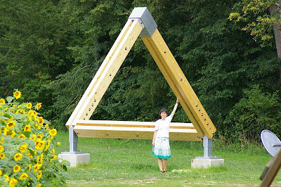 Impossible Triangle Sculpture, Gotschuchen, South Austria, Europe (2) 1