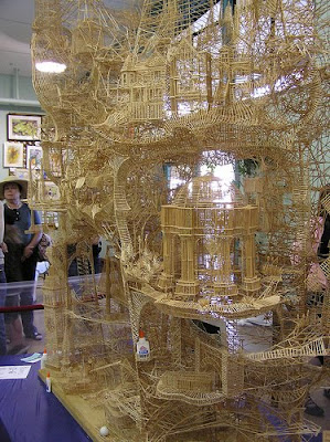 Toothpick Sculptures (21) 10