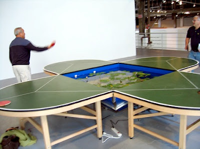 12 Innovative And Creative Ping Pong Tables Designs