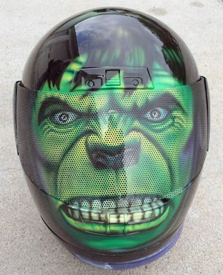 20 Cool and Creative Motorcycle Helmet Designs (20) 8