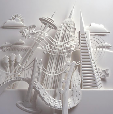 Paper Sculptures by Jeff Nishinaka (11) 11