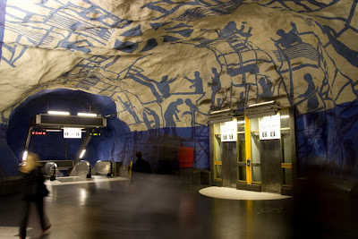 Artistic and Creative Swedish Subway System (21) 3