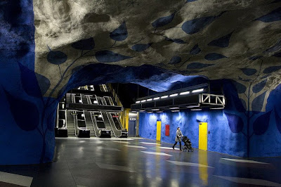 Artistic and Creative Swedish Subway System (21) 1