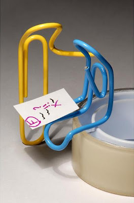Paper Clip Inspired Products, Artwork and Designs (33) 31