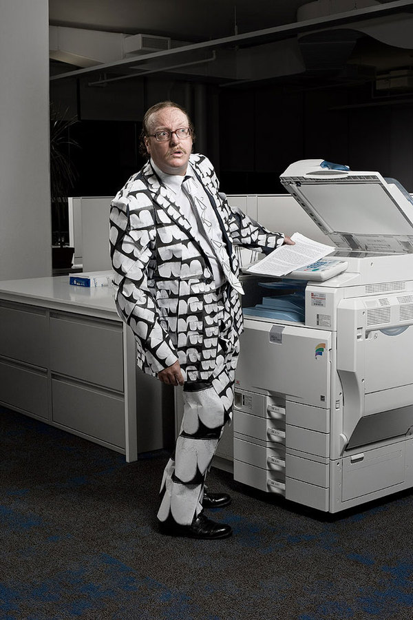 Creative And Cool Officewear Made From Office Supply