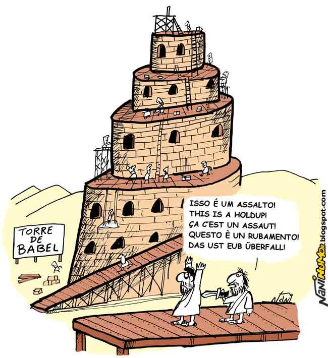 Torre De Babel Torre De Babel Em Desenho