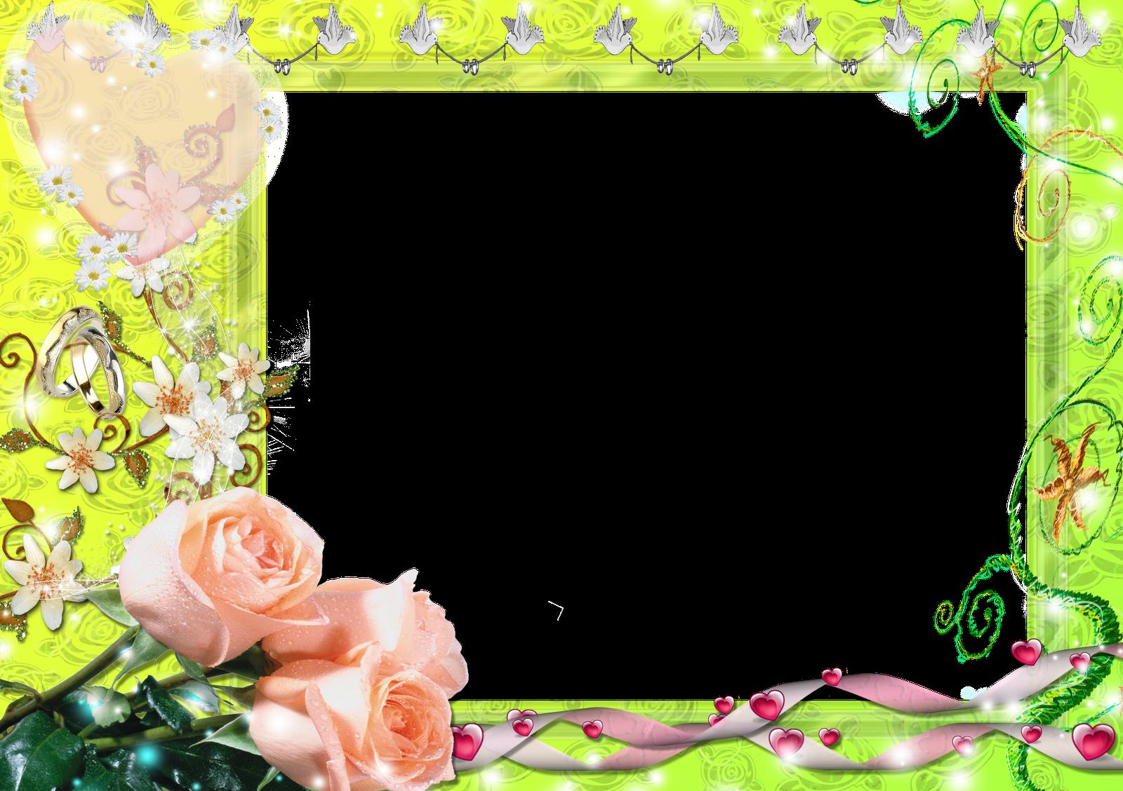 Molduras Com Flores Para Fotos