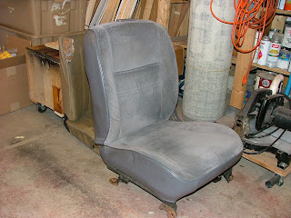 VW Bus Project - Some new life for an old Bulli!: Front Seats