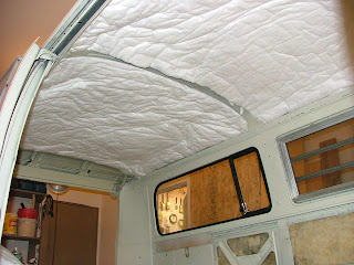 VW Bus Project - Some new life for an old Bulli!: New Headliner