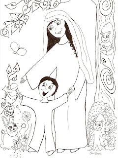 Carol Brooke, Children's Book Author & Illustrator: Jesus