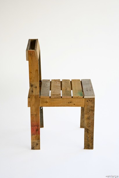 sixty one A: Upcycled pallet chair