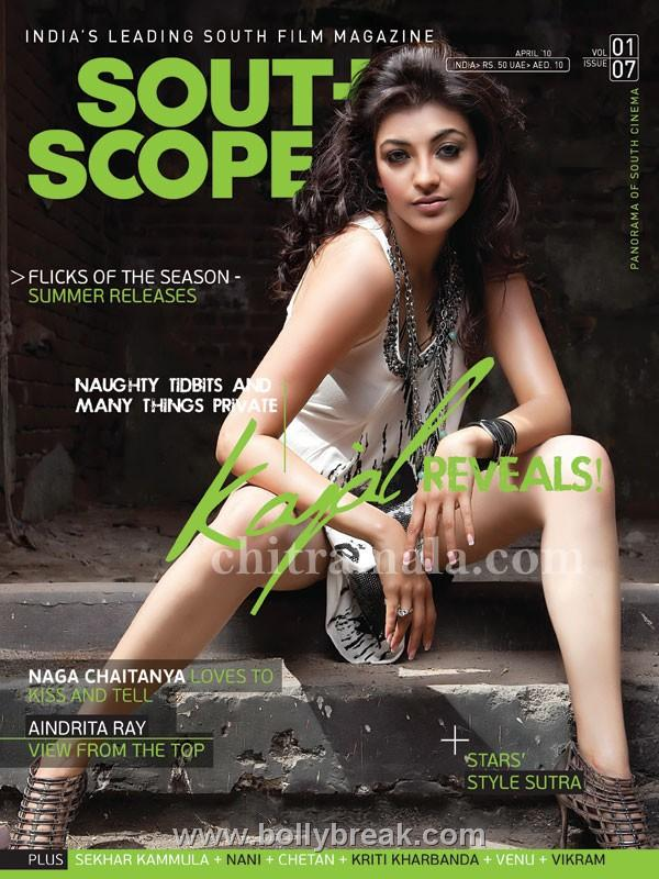 Opinion you Kajal agarwal cover magazine not agree