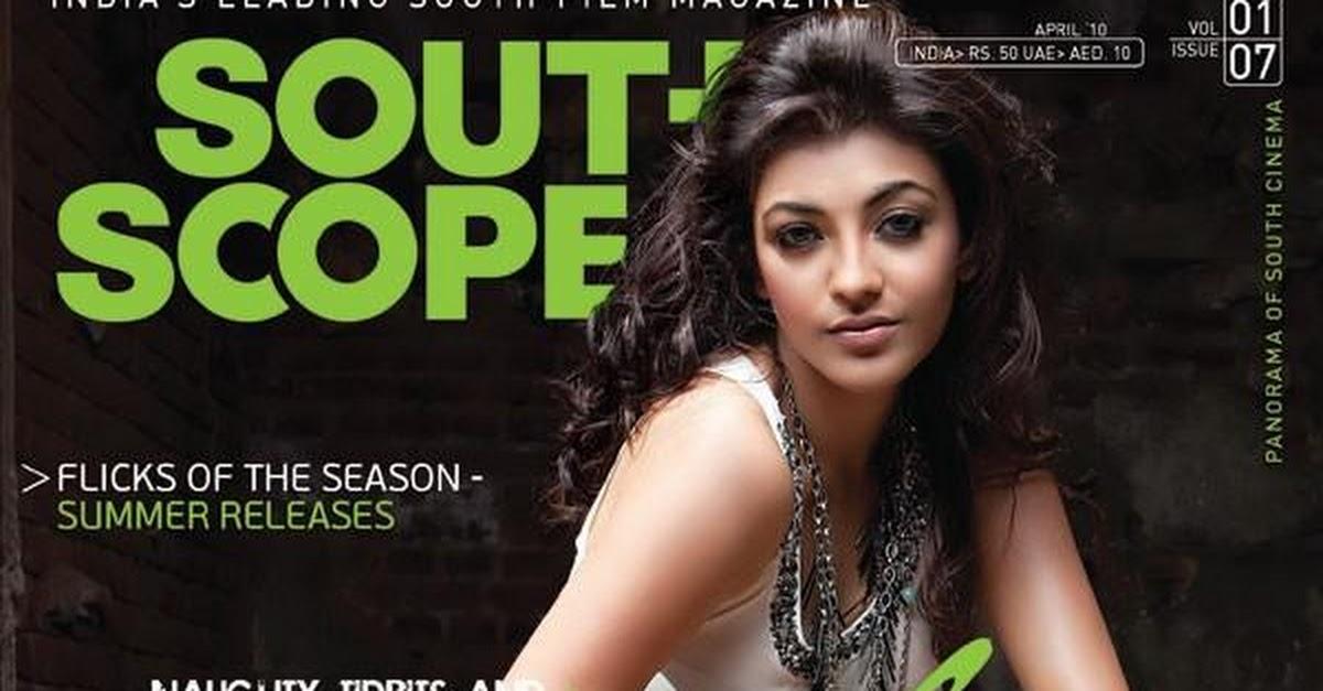 Speaking, Kajal agarwal cover magazine the