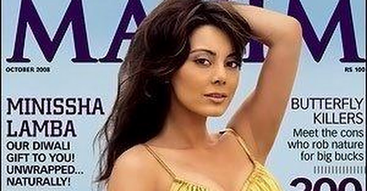 Bollywood Actresses In Maxim: Bollywood Babes On Maxim Cover