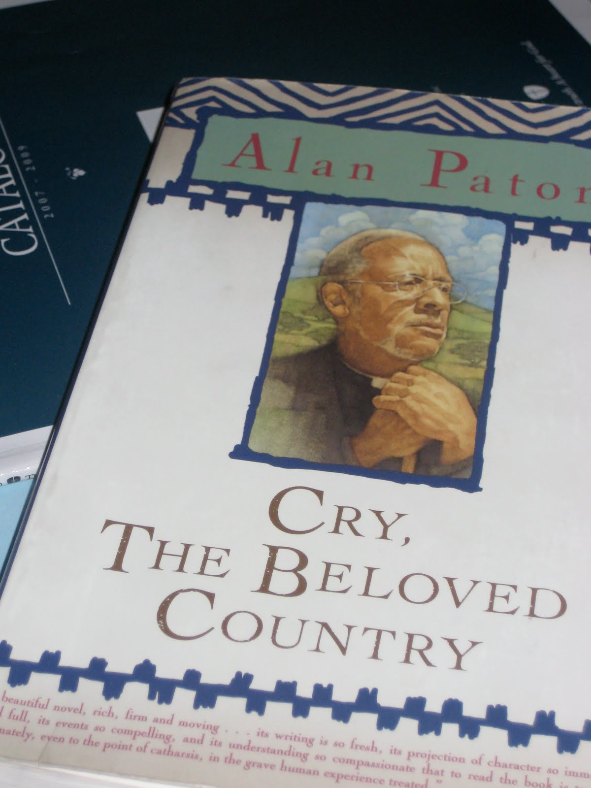 Agitation and turmoil of the whites and blacks in the book cry the beloved country by alan paton