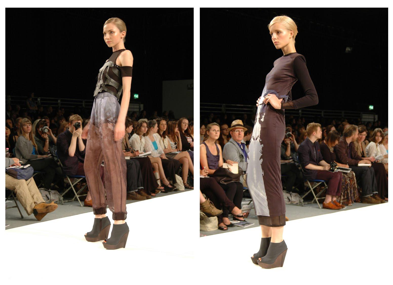 Graduate Fashion Week London 2010 Carly Njini From University Of East London Fashion Foie Gras