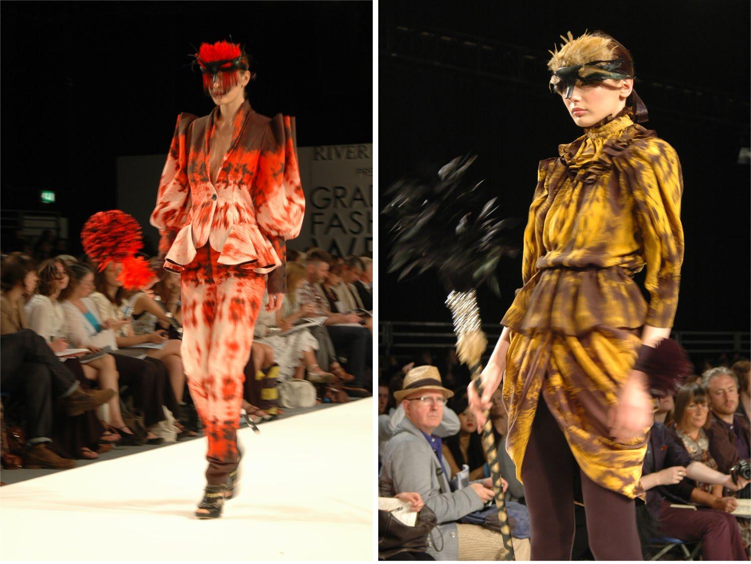 Graduate Fashion Week London 2010 Bunmi Olaye From University Of East London Fashion Foie Gras