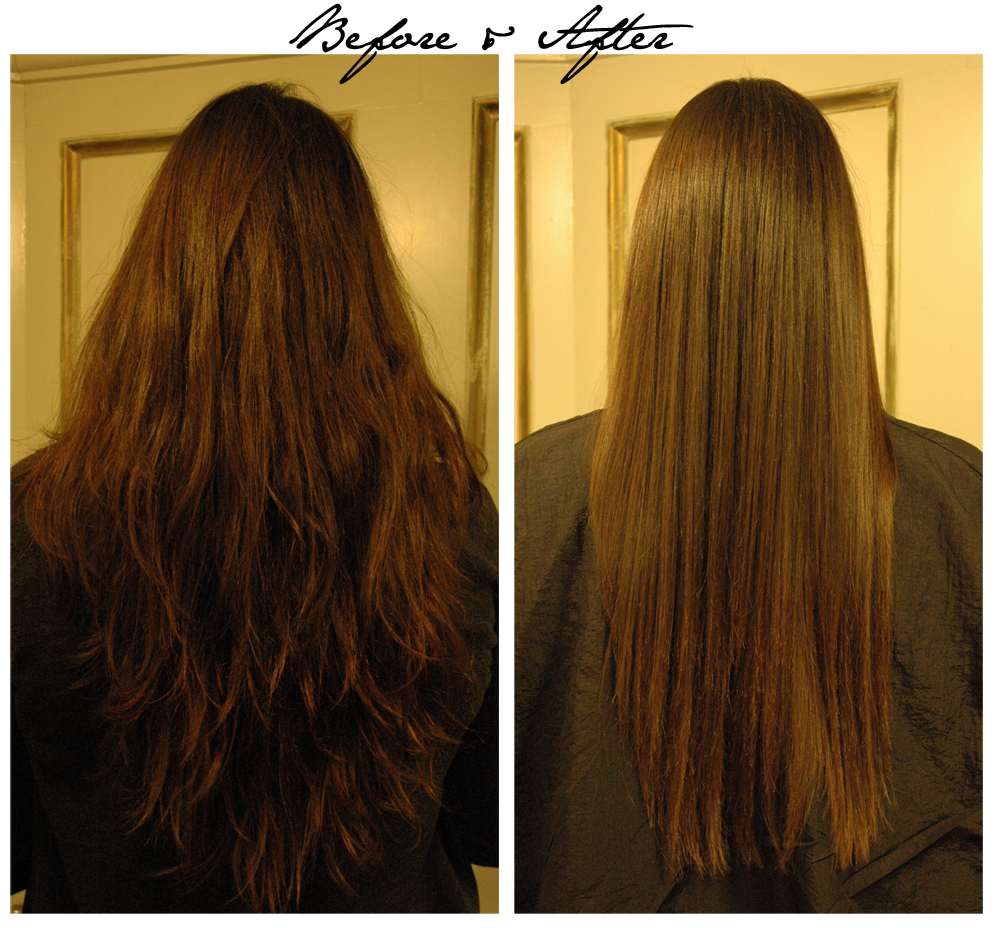 The Brazilian Blowout Before and After at Taylor Taylor in ...