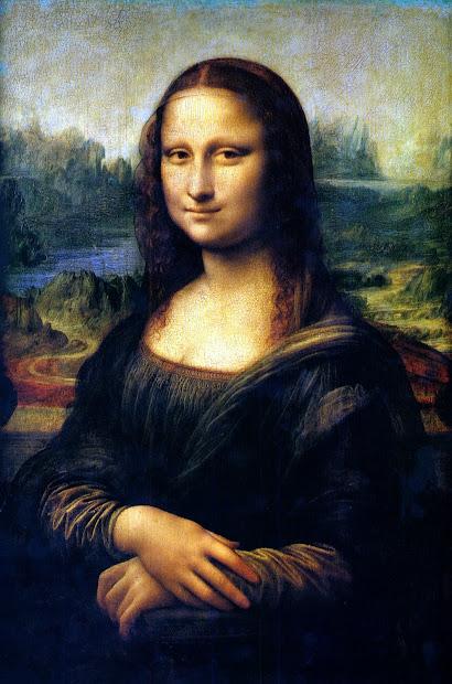 Public Domain And Mona Lisa Retouched
