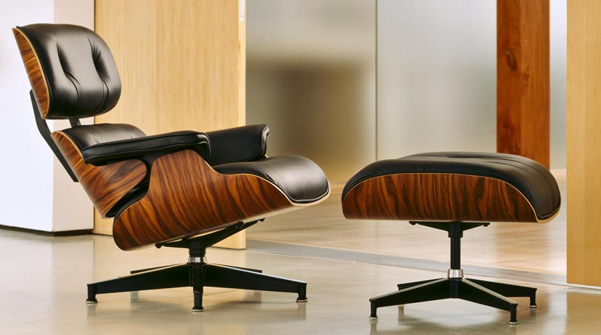 Eames Lounge Chair And Ottoman Only A