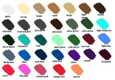 Colour Palettes Anna Saccone Joly
