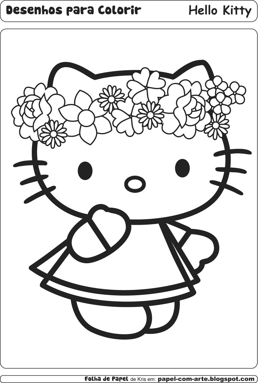 Imagens Da Hello Kitty Para Imprimir
