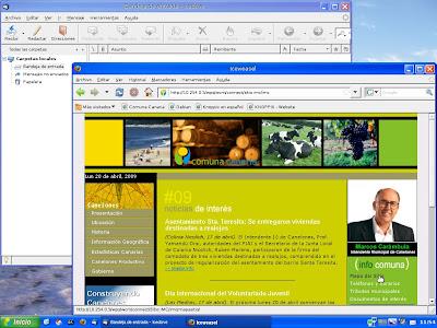 Comunix, una distro con estilo XP