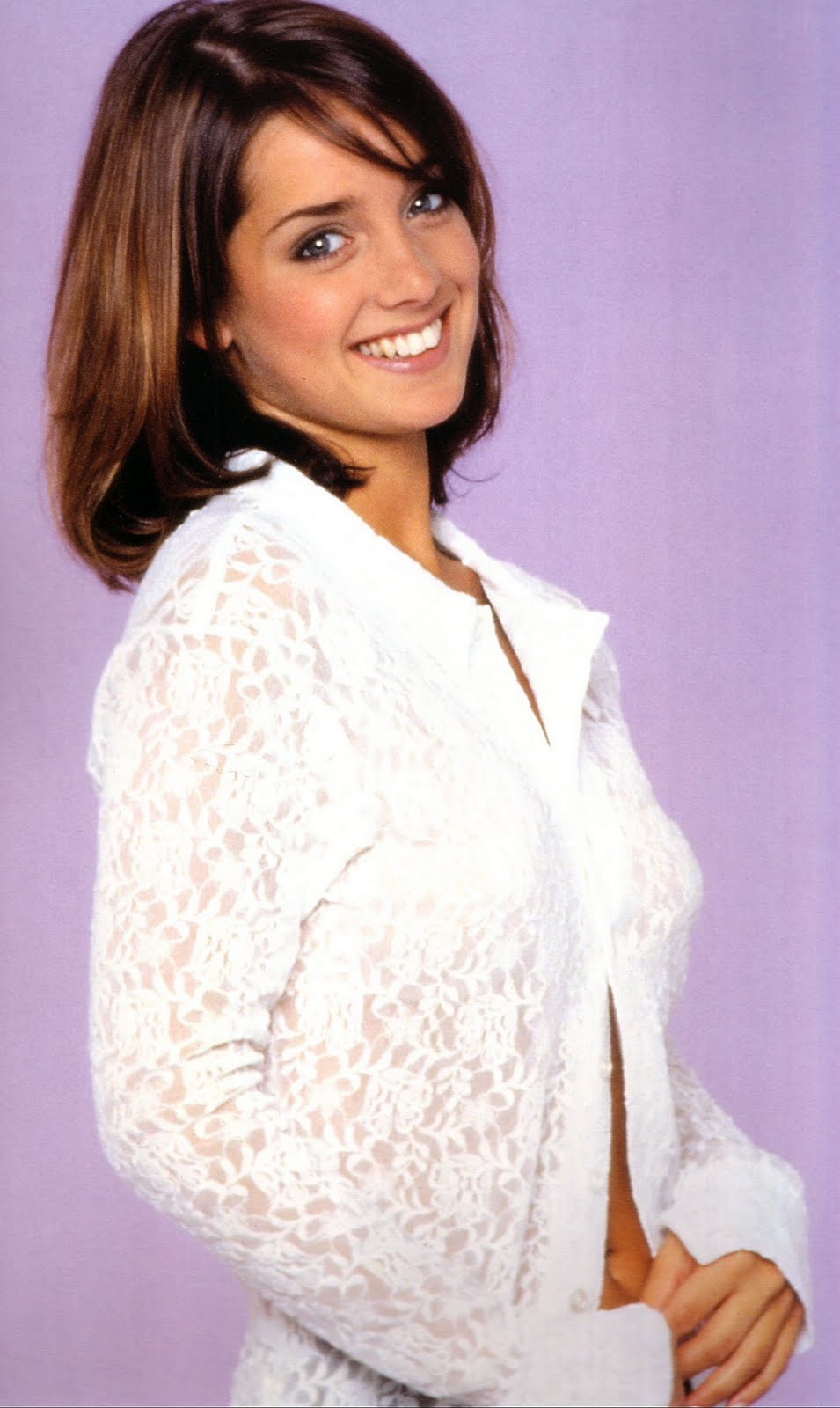 Ladies In Satin Blouses Louise Redknapp More Blouses