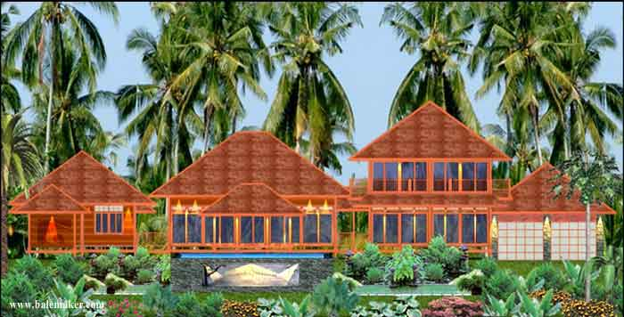 From Bali With Love Tropical House Plans From Bali With Love – Tropical House Floor Plans